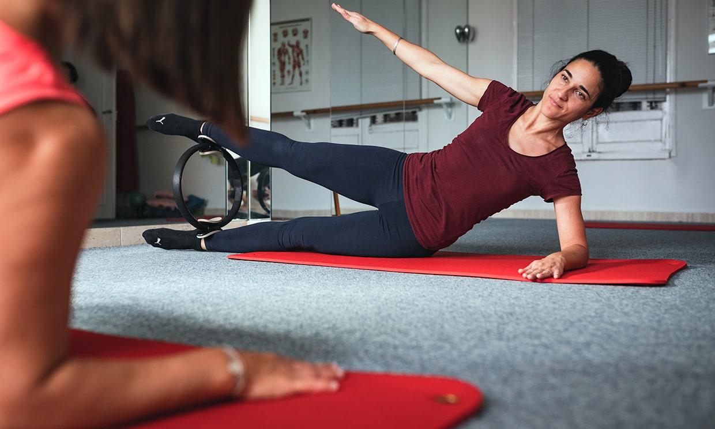 Beneficios de practicar Pilates con aro