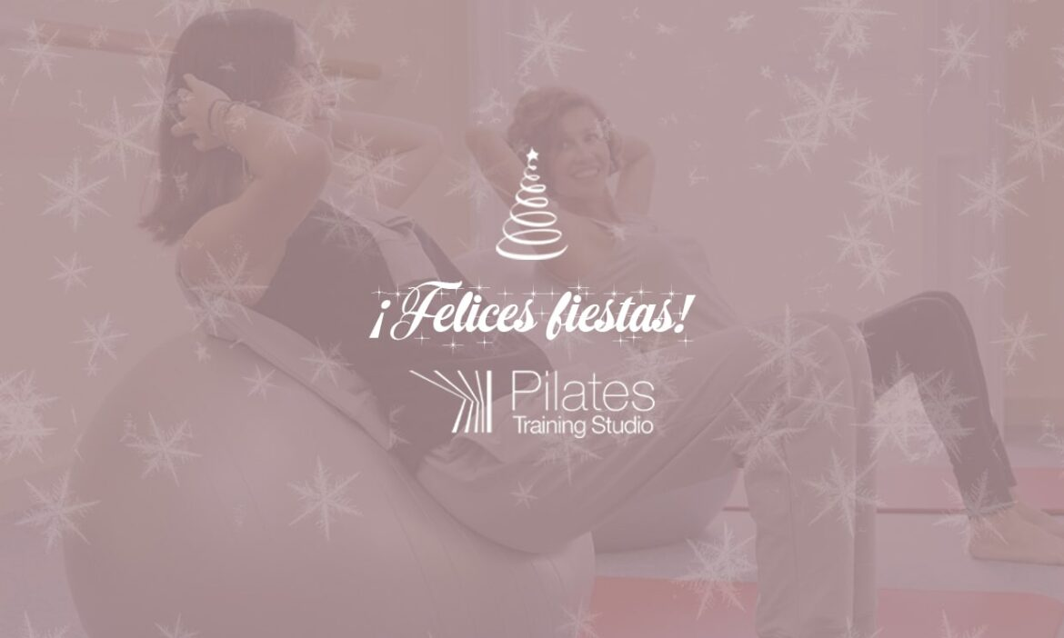 ¡Pilates Training Studio te desea felices fiestas!