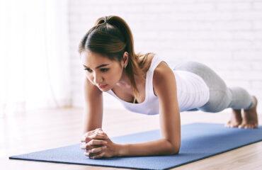 Pilates para un vientre plano